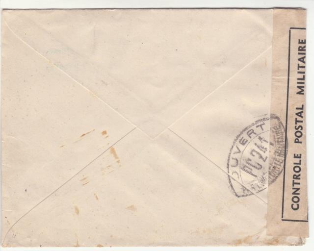 Tarif de la recommandation pendant la Deuxième Guerre mondiale _1000016