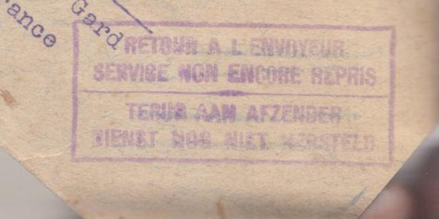 Lettre de Zurich de juillet 1940 pour la zone libre - Mal dirigée !! _1000023