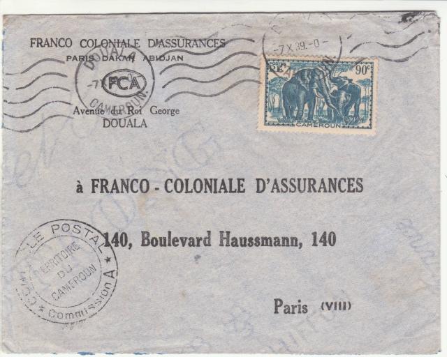 Tarif des lettres pendant la Deuxième Guerre mondiale _1000415