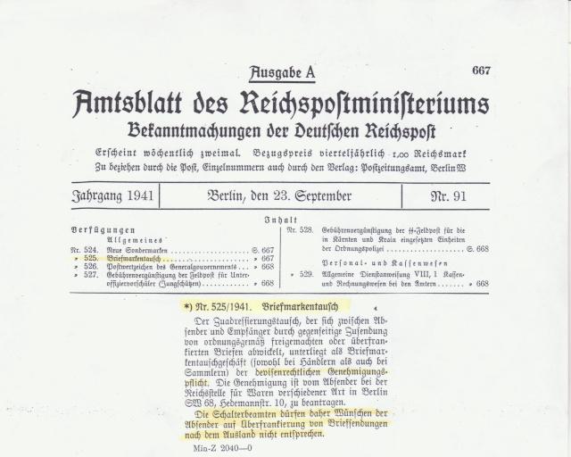 Bohème & Moravie - Lettre non conforme aux décrets des communications- Concernant le suraffranchissement. _1000511