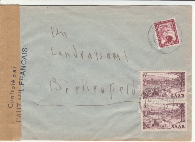 Censure des troupes d'occupation en Allemagne _1001611