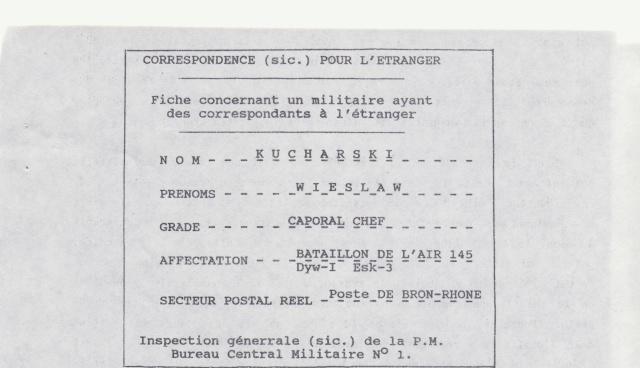 Comment les BCM connaissaient le secteur postal réel des militaires _1002210