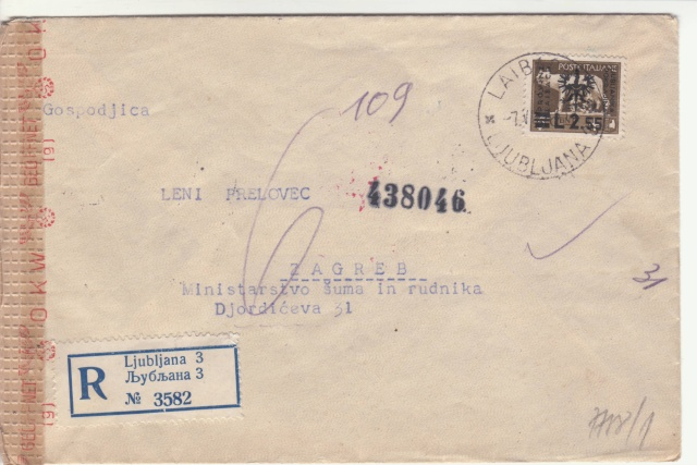 LUBIANA occupation italienne _1100020
