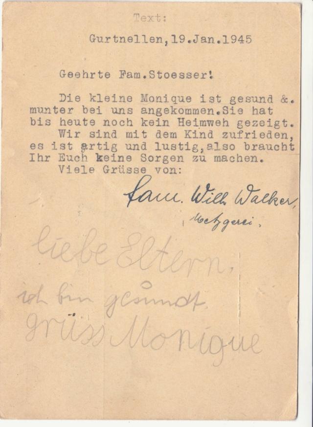 Tarif des cartes postales pendant la Deuxième Guerre mondiale _1200014