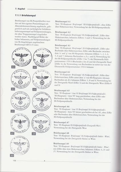 Poste de campagne / Feldpost - parution d'un ouvrage en langue allemande. _1200024