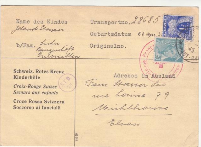 Tarif des cartes postales pendant la Deuxième Guerre mondiale _1300012