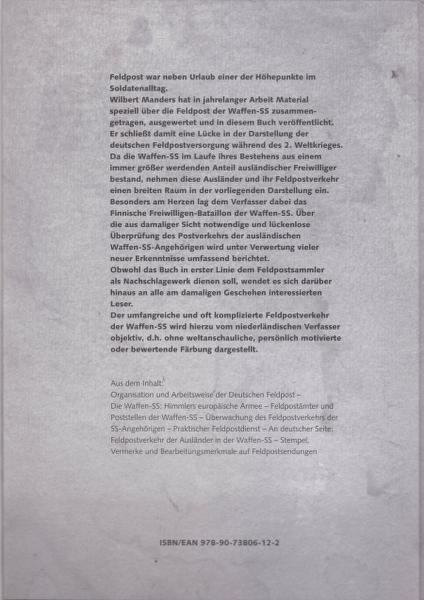 Poste de campagne / Feldpost - parution d'un ouvrage en langue allemande. _1300020