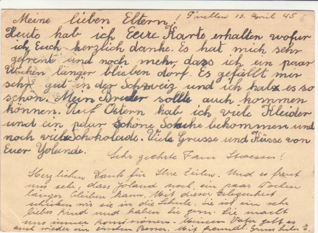 Tarif des cartes postales pendant la Deuxième Guerre mondiale _1400012