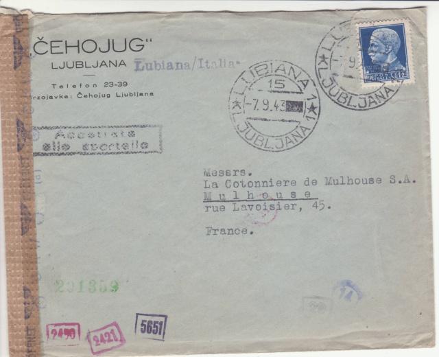 Occupation italienne de la province de Ljubljana - Lubiana - Laibach (Slovénie) _1500018