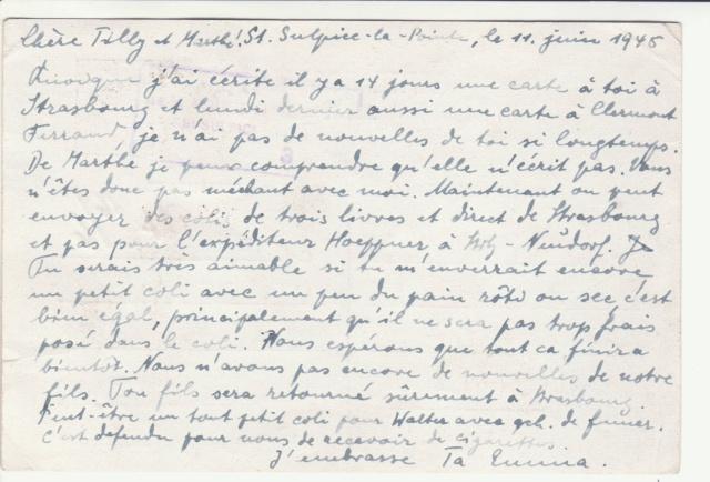 Tarif des cartes postales pendant la Deuxième Guerre mondiale _1800011