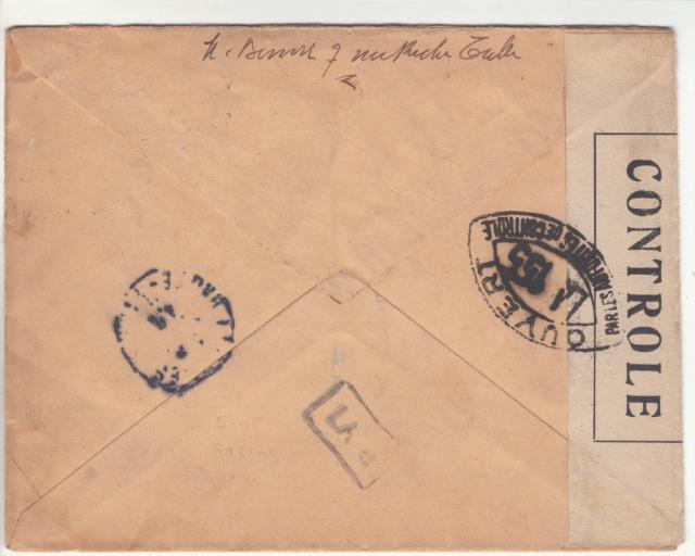 Tarif de la recommandation pendant la Deuxième Guerre mondiale _1_112