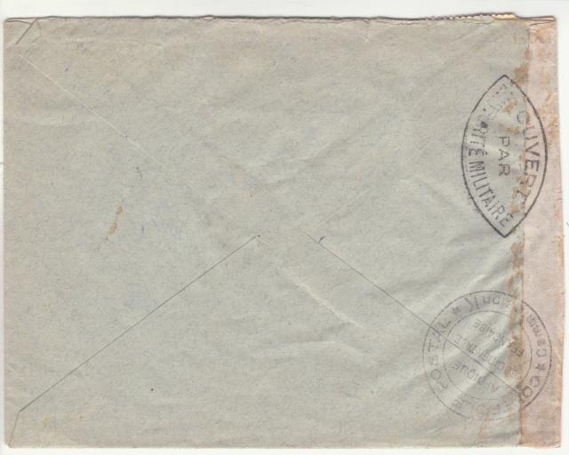 Tarif de la recommandation pendant la Deuxième Guerre mondiale _1_210