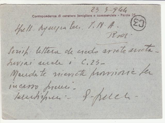 Censures allemandes en Mer Egée et dans le Dodécanèse. _1d00310