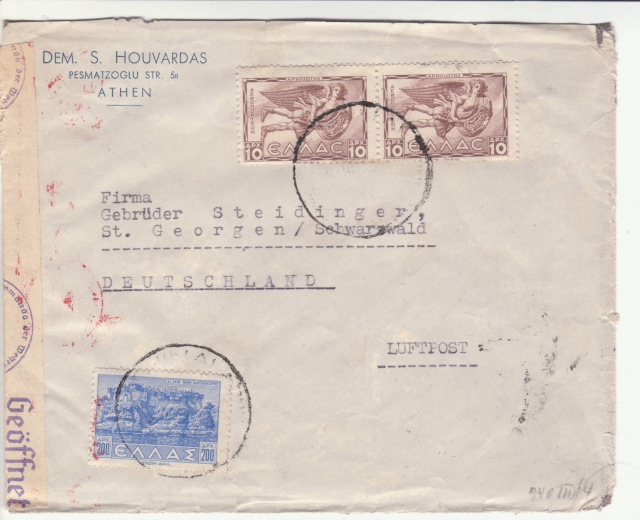 La censure italienne en Grèce 1943. _1f00211