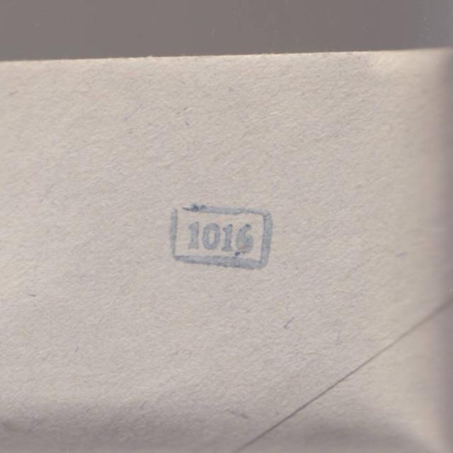 Lettre envoyée directement au centre de contrôle de Francfort/Main _2000311