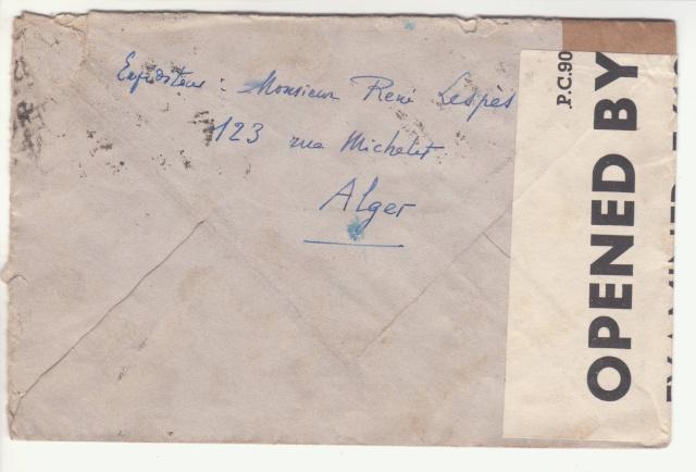 Lettre adressée à la Mission Militaire Française. _2000812