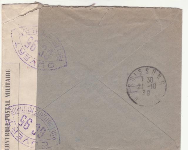 Tarif de la recommandation pendant la Deuxième Guerre mondiale _2001510