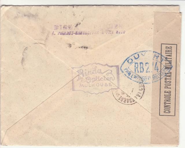 Tarif des lettres pendant la Deuxième Guerre mondiale _2001910