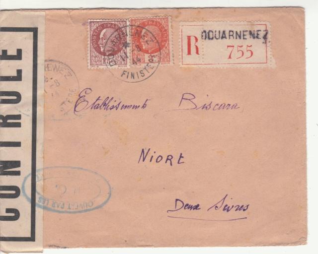 Tarif de la recommandation pendant la Deuxième Guerre mondiale _2_00011