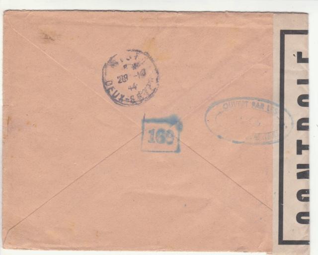 Tarif de la recommandation pendant la Deuxième Guerre mondiale _2_110