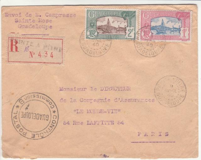 Tarif de la recommandation pendant la Deuxième Guerre mondiale _2_511
