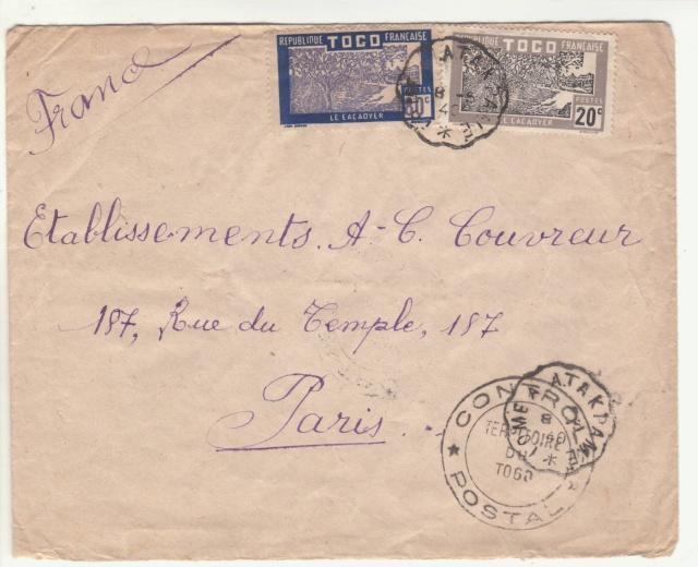 Tarif des lettres pendant la Deuxième Guerre mondiale _3_010