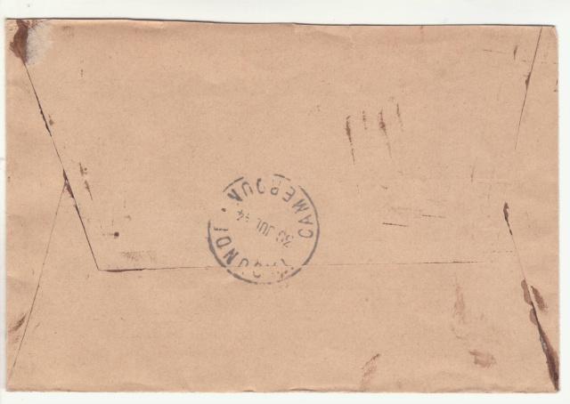 Tarif des lettres pendant la Deuxième Guerre mondiale _3_10011