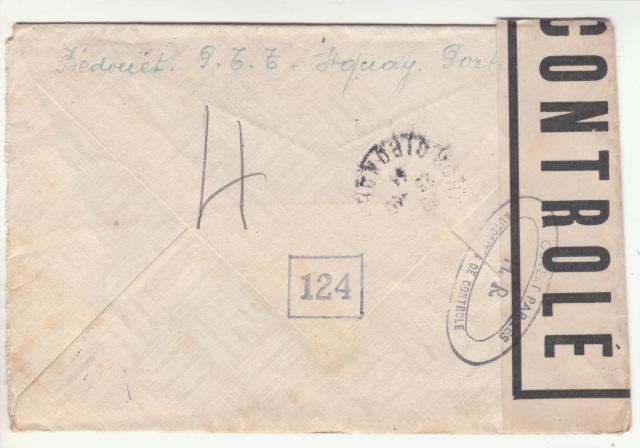 Tarif de la recommandation pendant la Deuxième Guerre mondiale _3_10012