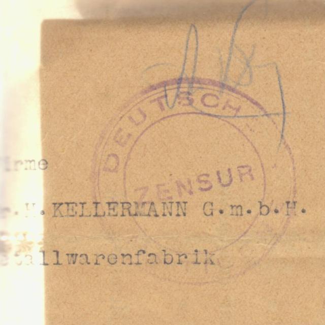 Censures allemandes en Mer Egée et dans le Dodécanèse. _3a00010