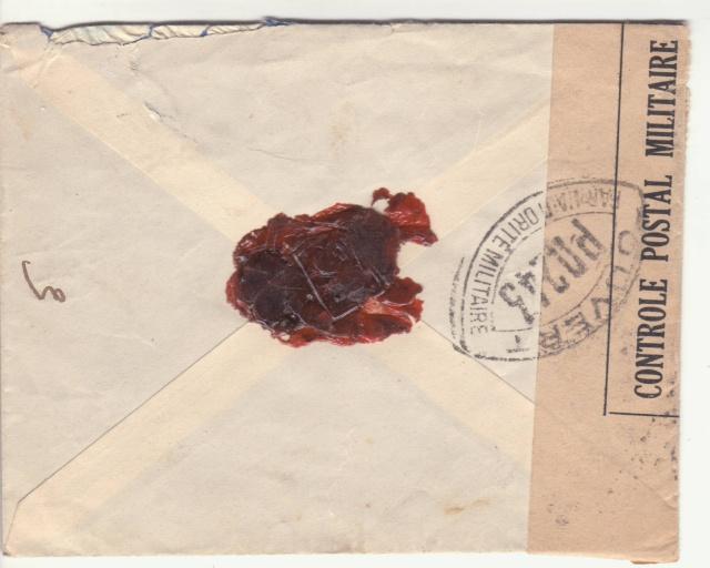Tarif de la recommandation pendant la Deuxième Guerre mondiale _4001011