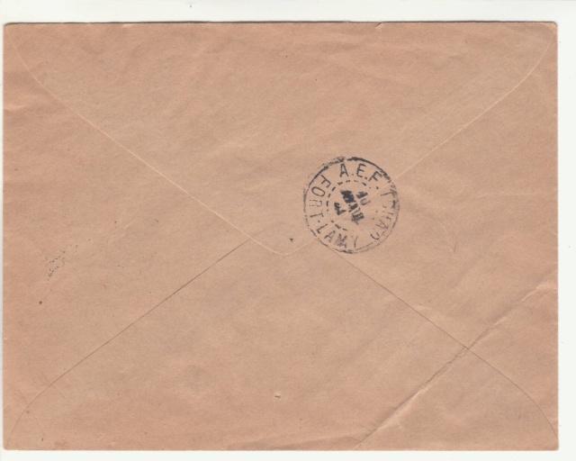 Tarif de la recommandation pendant la Deuxième Guerre mondiale _4001110