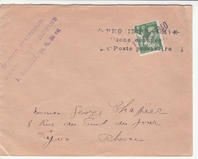 Tarif des lettres pendant la Deuxième Guerre mondiale _4001410