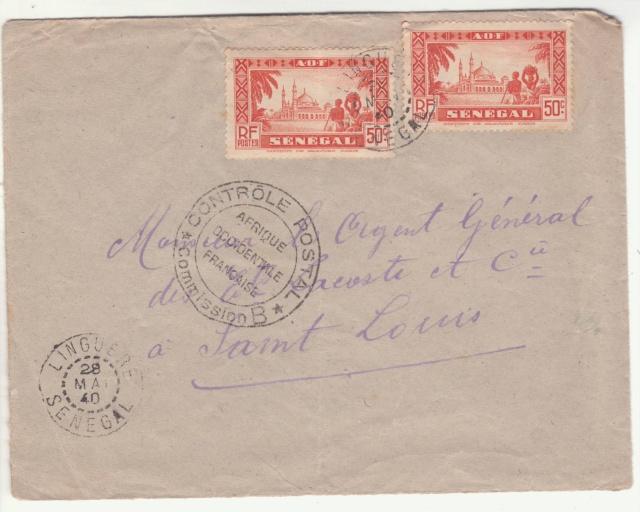 Tarif des lettres pendant la Deuxième Guerre mondiale _4_010