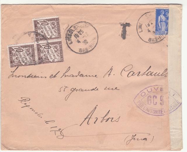 Tarif des lettres pendant la Deuxième Guerre mondiale _5000512