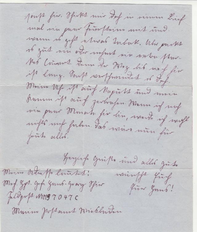 Lettre de la fortersse de Lorient de décembre 1944. _5000710