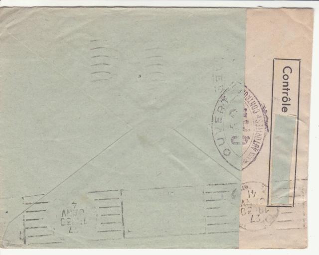 Tarif des lettres pendant la Deuxième Guerre mondiale _5001310