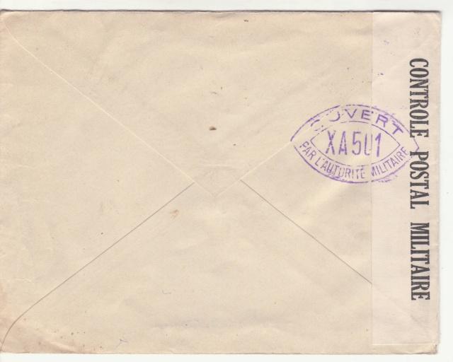 Tarif de la recommandation pendant la Deuxième Guerre mondiale _6000512