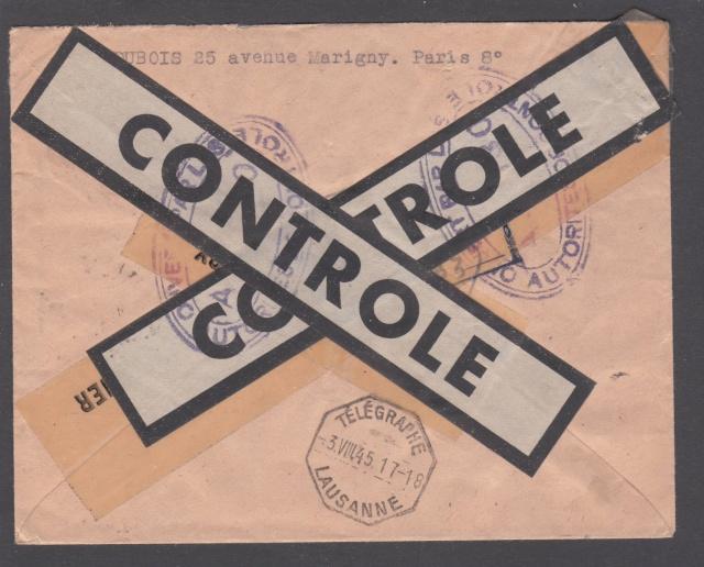 Le contrôle des informations - Censure de la Presse et  dela publication (1945 AZ130) _6000612