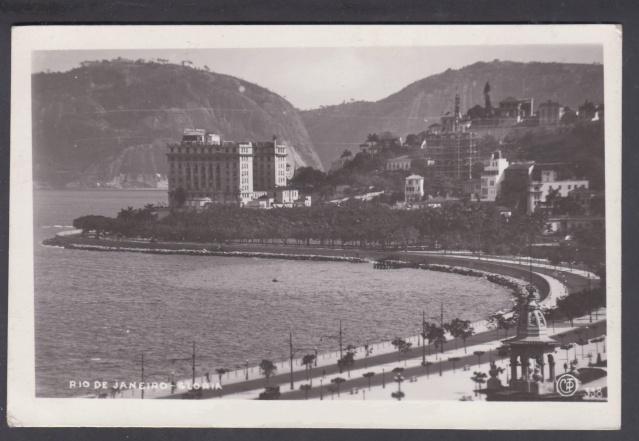 """Lettre de Rio transportée par le Paquebot """"Océania"""" 1939 _7000911"""