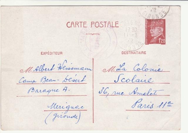 Tarif des cartes postales pendant la Deuxième Guerre mondiale _8000311