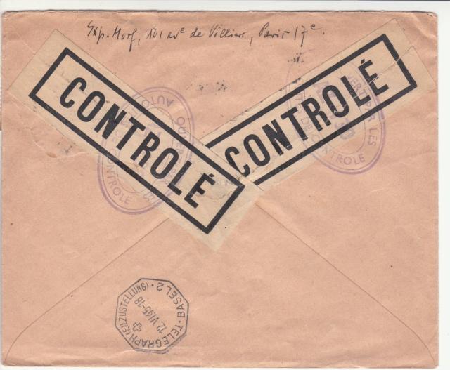 Le contrôle des informations - Censure de la Presse et  dela publication (1945 AZ130) _b000210