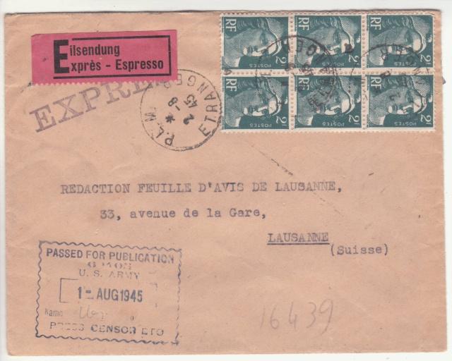 Le contrôle des informations - Censure de la Presse et  dela publication (1945 AZ130) _c000210