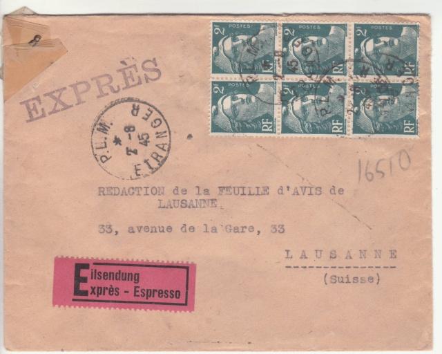 Le contrôle des informations - Censure de la Presse et  dela publication (1945 AZ130) _e10
