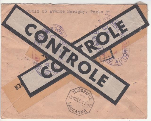 Le contrôle des informations - Censure de la Presse et  dela publication (1945 AZ130) _f10