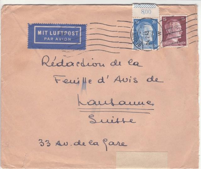Le contrôle des informations et de la Presse en France pendant l'occupation allemande.  _h10