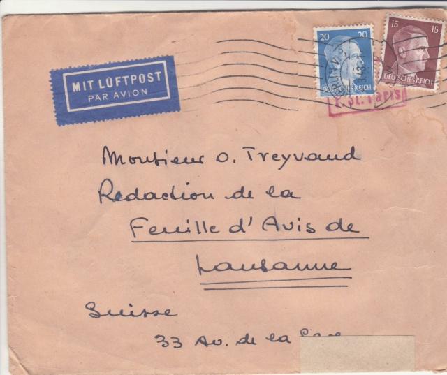 Le contrôle des informations et de la Presse en France pendant l'occupation allemande.  _j10