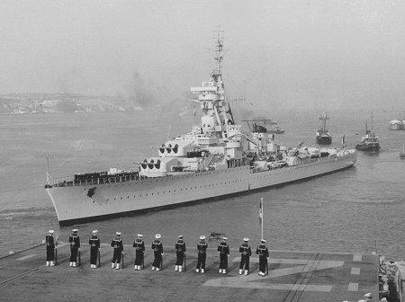 Lettre du croiseur Georges Leygues lors de son escale à Alger en novembre 1943. Croise10