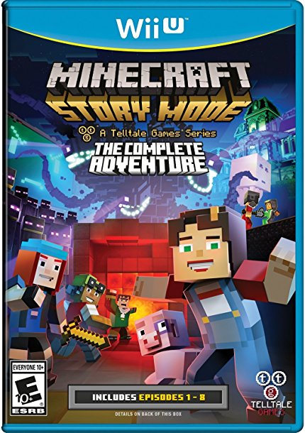 Minecraft Story Mode: Wii U Edition [USA][USB] 818ekn10