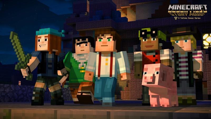 Minecraft Story Mode: Wii U Edition [USA][USB] Maxres10