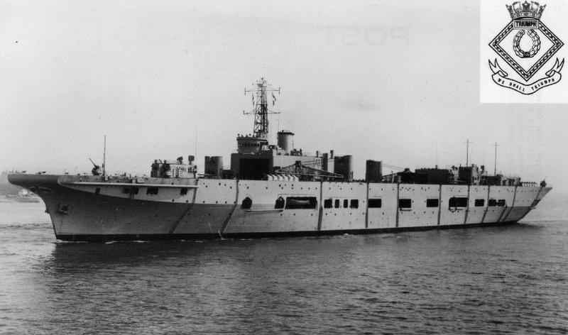 COLOSSUS - Porte-avions classe COLOSSUS britannique. - Page 2 3trium11